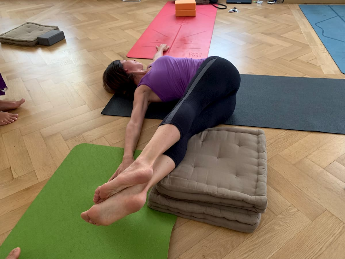 Posizioni yoga - torsioni